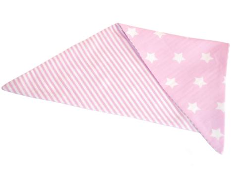 bandana lila met sterren en strepen