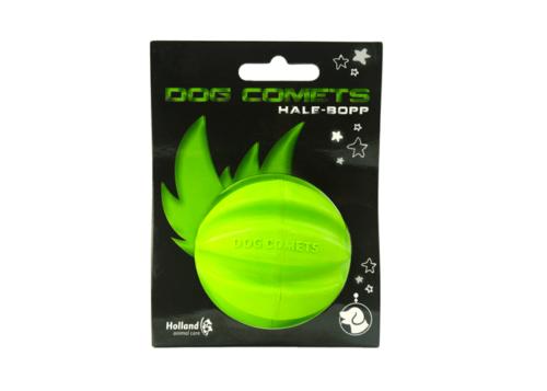 dog comets ball hale bopp groen