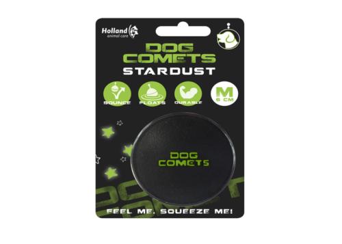 dog comets stardust zwart met groen